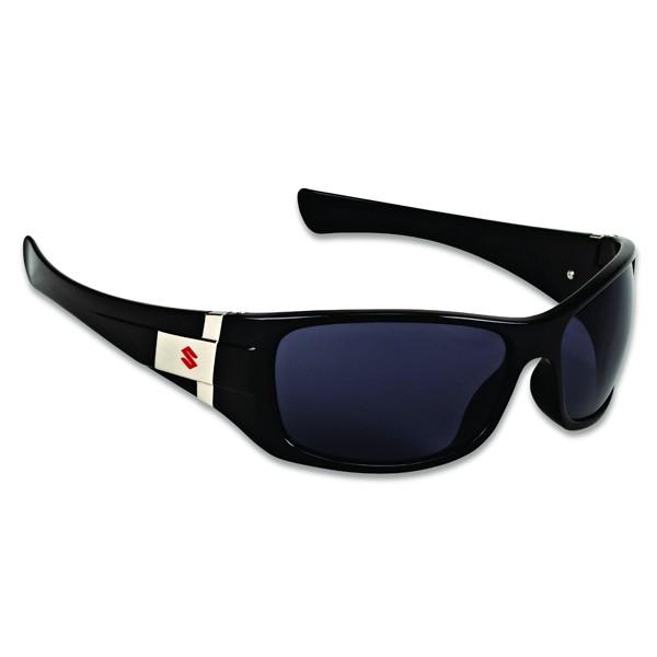 lunettes de soleil noires et chromes la boutique moto. Black Bedroom Furniture Sets. Home Design Ideas