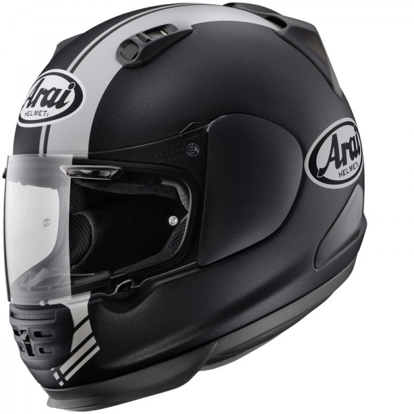 casque arai rebel base noir blanc la boutique moto. Black Bedroom Furniture Sets. Home Design Ideas