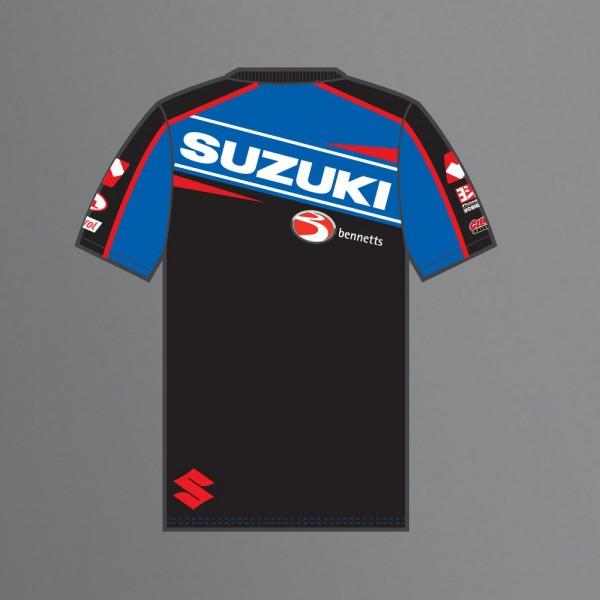kids t-shirt - halsall suzuki bsb 2015 - la boutique moto